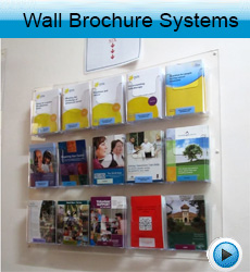Wall-brochure-display-systemss