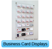 acrylic business card display systems