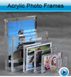 magnetic photo-frames