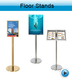 floor-brochure sign-stands