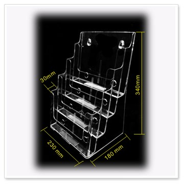 4 Tier A4 brochure holders-4C230