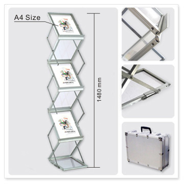 A40 Brochure Stand Literature Holders Brochure Rack Portable Interesting Portable Literature Display Stands