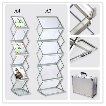 A40 Brochure Stand Literature Holders Brochure Rack Portable Gorgeous Portable Literature Display Stands