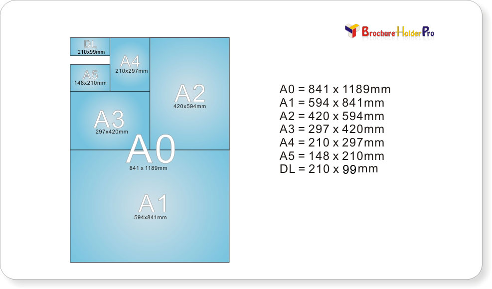 brochure holders dl a5 a4 counter brochure holders wall mount