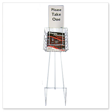 mobile brochure stands