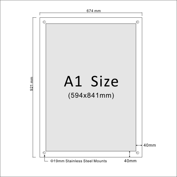 Poster standard size