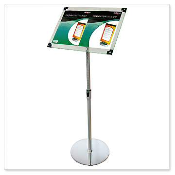potable brochure stands